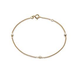 Jolie 3 White Stones bracelet