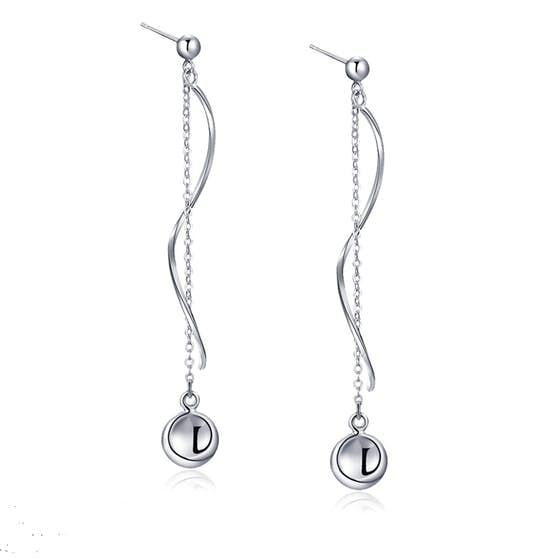 Anne earrings fra A-Hjort i Sølv Sterling 925