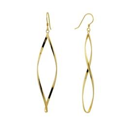 Anne Twisted earrings fra A-Hjort