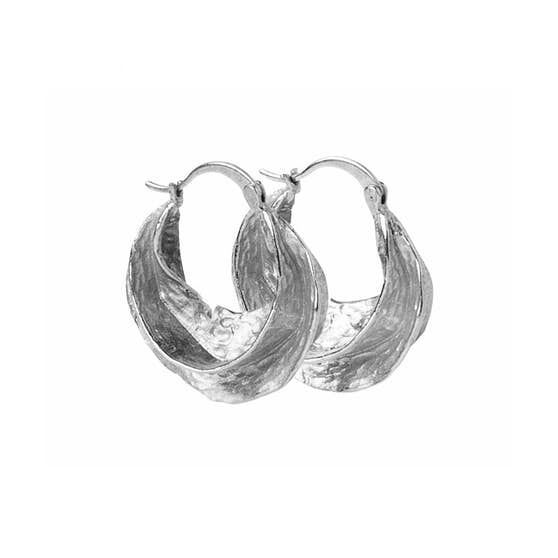 Africa Creol earrings from Pico in Silverplated Brass