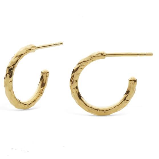 Ina Small earrings fra Maanesten i Forgylt-Sølv Sterling 925