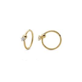 Lela 1 Stone earrings