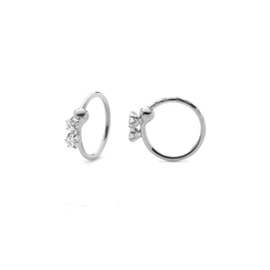Lela 2 stone earrings
