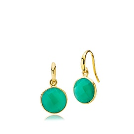 Prima Donna earrings Green onyx