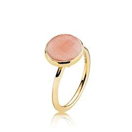 Prima Donna ring Peach Moonstone