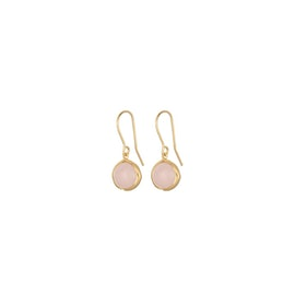 Aura Rose earhooks