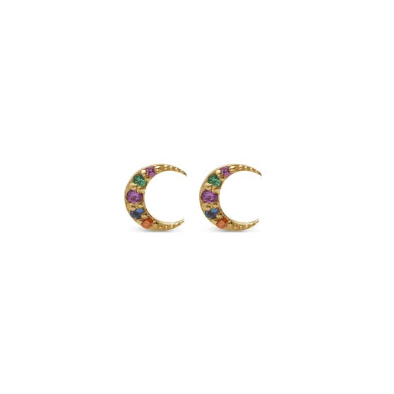 Becca earsticks from Maanesten in Goldplated-Silver Sterling 925