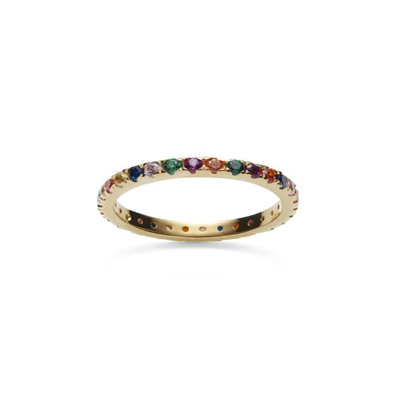 Pari ring from Maanesten in Goldplated-Silver Sterling 925|Blank