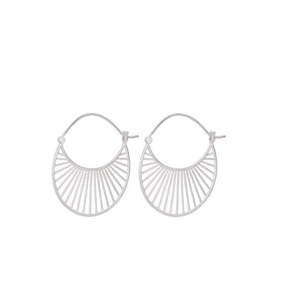 Large Daylight earrings från Pernille Corydon i Silver Sterling 925|