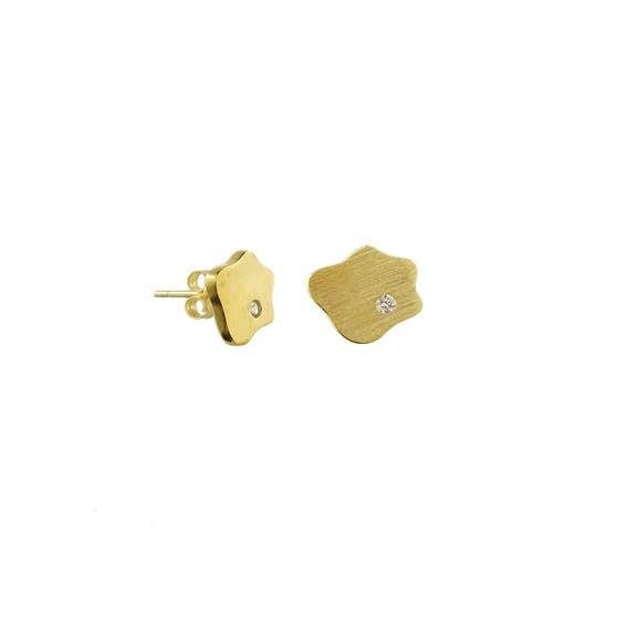 Anton earsticks fra A-Hjort i Forgylt-Sølv Sterling 925
