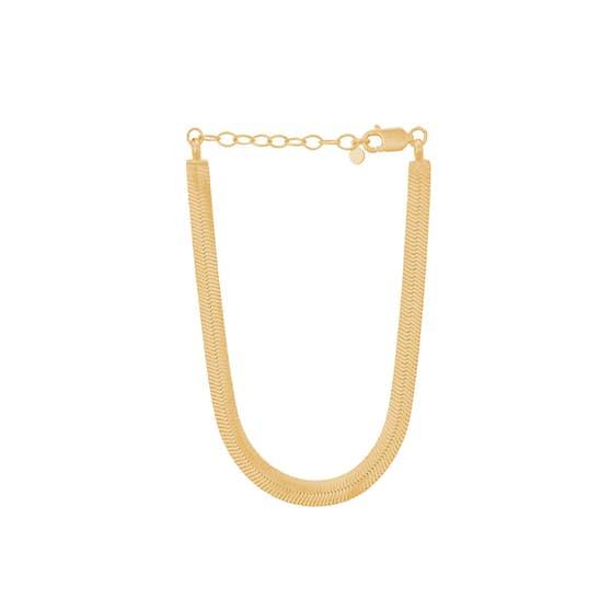 Edith bracelet fra Pernille Corydon i Forgylt-Sølv Sterling 925|Blank
