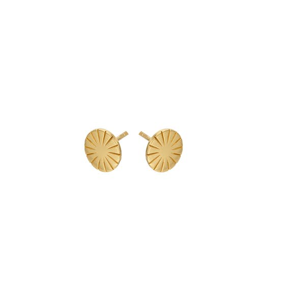 Era Earsticks from Pernille Corydon in Goldplated-Silver Sterling 925