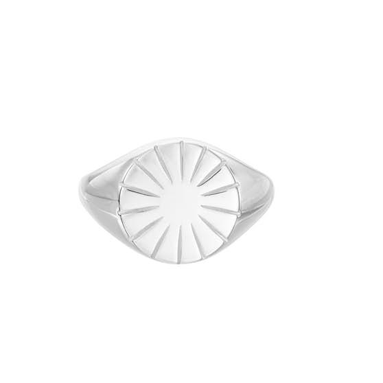 Era Signet Ring från Pernille Corydon i Silver Sterling 925