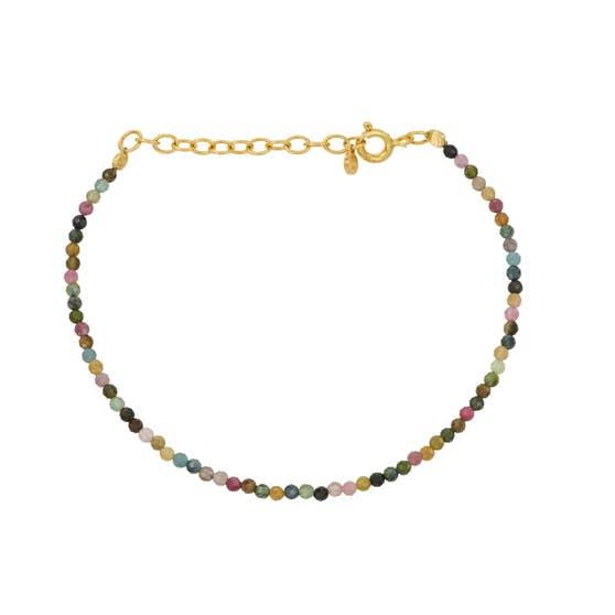 Turmalin Bracelet von Pernille Corydon in Vergoldet-Silber Sterling 925
