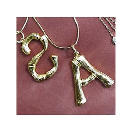 Joseph Cph Letter necklace