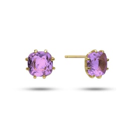 Gem Candy earsticks w. Amethyst