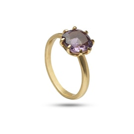 Gem Candy ring w. Amethyst