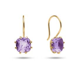 Gem Candy earrings w. Amethyst