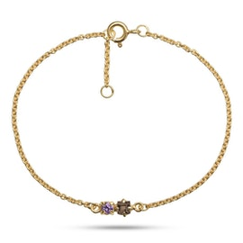 Gem Candy 2 gemstones bracelet