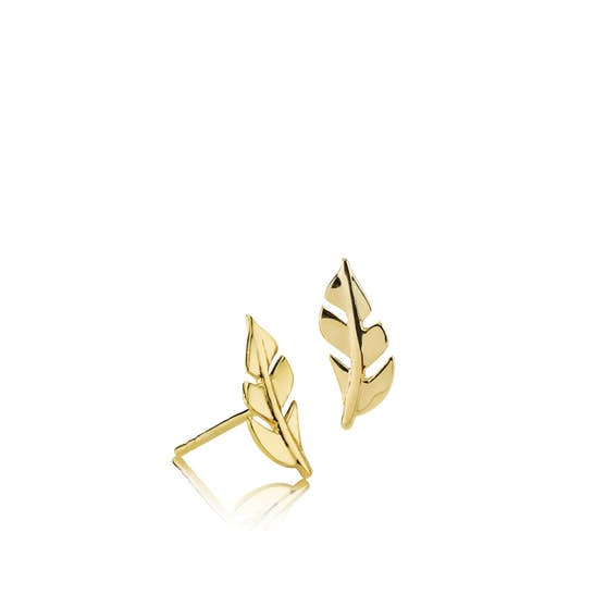 Flawless earsticks from Izabel Camille in Goldplated-Silver Sterling 925