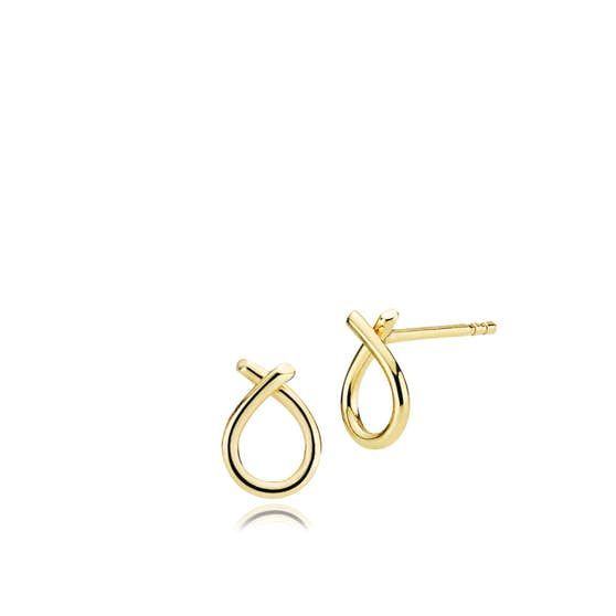 Everyday Small earrings from Izabel Camille in Goldplated-Silver Sterling 925