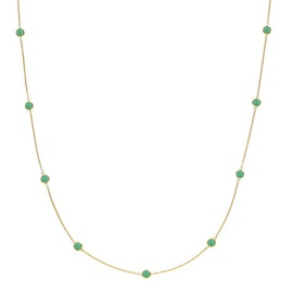 Prima Donna necklace Green Onyx