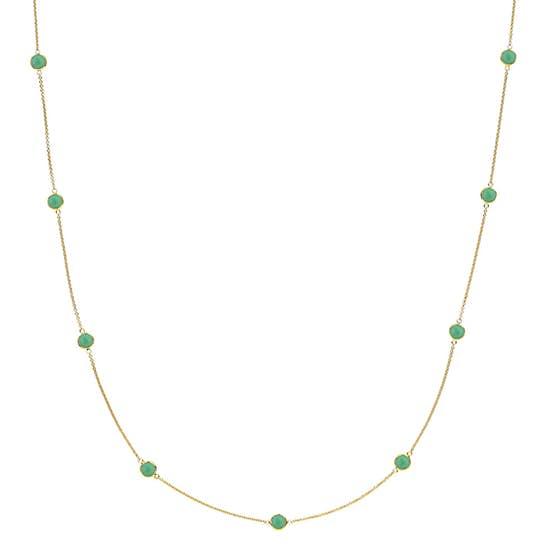 Prima Donna necklace Green Onyx
