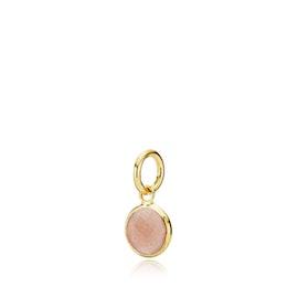Prima Donna small pendant Peach Moonstone
