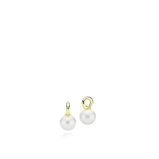 Petite White pendants fra Izabel Camille i Forgylt-Sølv Sterling 925