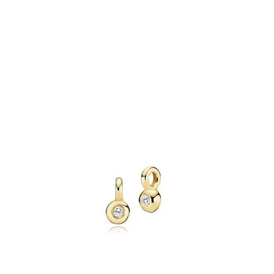 Petite pendants von Izabel Camille in Vergoldet-Silber Sterling 925