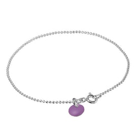 Enamel bracelet Purple