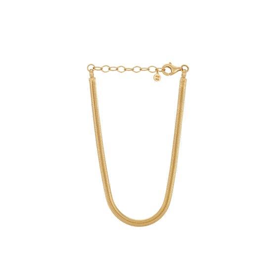 Elinor bracelet fra Pernille Corydon i Forgylt-Sølv Sterling 925|Blank