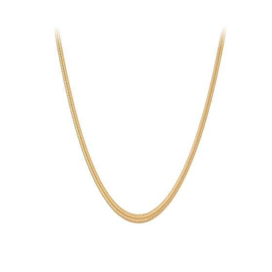 Elinor necklace från Pernille Corydon i Förgyllt-Silver Sterling 925|Blank