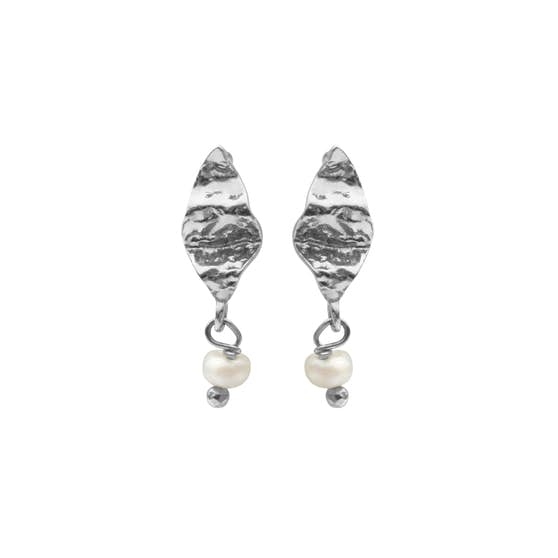 Lucca earsticks von Maanesten in Silber Sterling 925