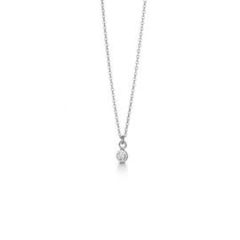 Zircon Dot necklace