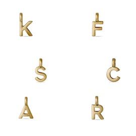 Classic Letter pendant