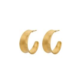 Saga earrings fra Pernille Corydon i Forgylt-Sølv Sterling 925