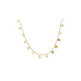 Sheen necklace fra Pernille Corydon i Forgylt-Sølv Sterling 925