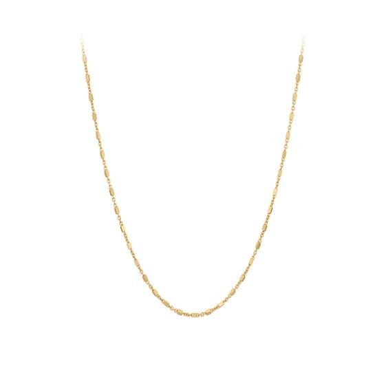 Thea necklace von Pernille Corydon in Vergoldet-Silber Sterling 925|Blank