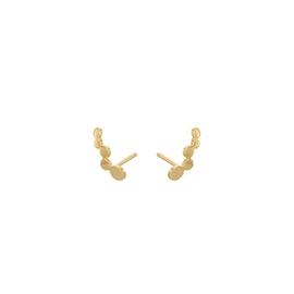 Sheen earsticks fra Pernille Corydon i Forgylt-Sølv Sterling 925