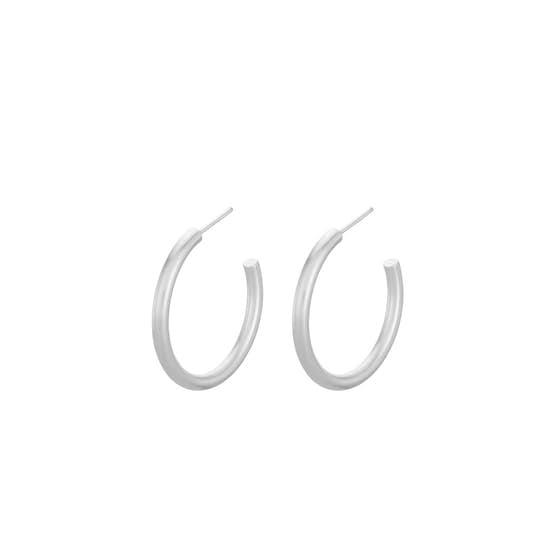 Gamma hoops from Pernille Corydon in Silver Sterling 925