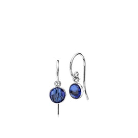 Prima Donna earrings small Royal Blue aus Izabel Camille