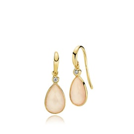 Imperial earrings Pink CL from Izabel Camille in Goldplated-Silver Sterling 925