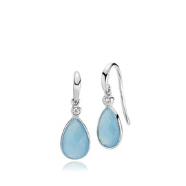 Imperial earrings Dark Blue CL aus Izabel Camille