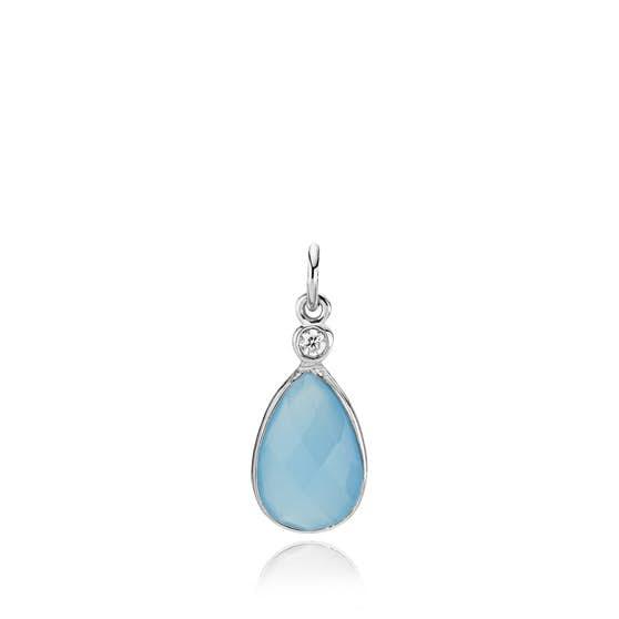 Imperial pendant Dark Blue CL fra Izabel Camille i Sølv Sterling 925