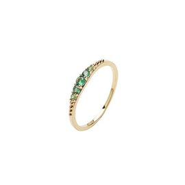 Aisha Crystal ring Green