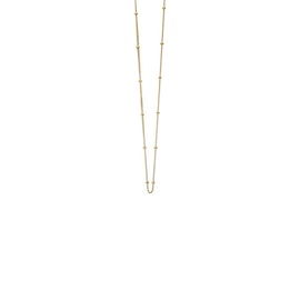 Beaded Chain necklace short
