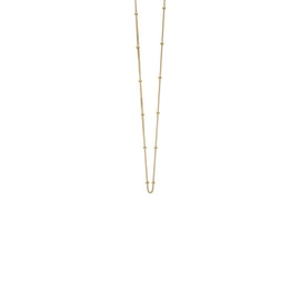 Beaded Chain necklace long