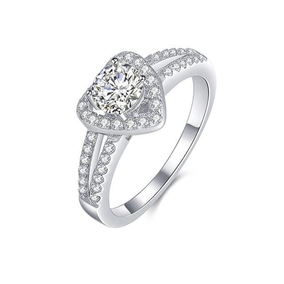 Heart ring från A-Hjort i Silver Sterling 925