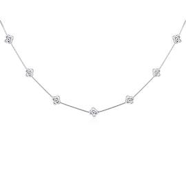 Alma necklace von A-Hjort in Silber Sterling 925|Blank